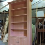 Beech PVC book case unit